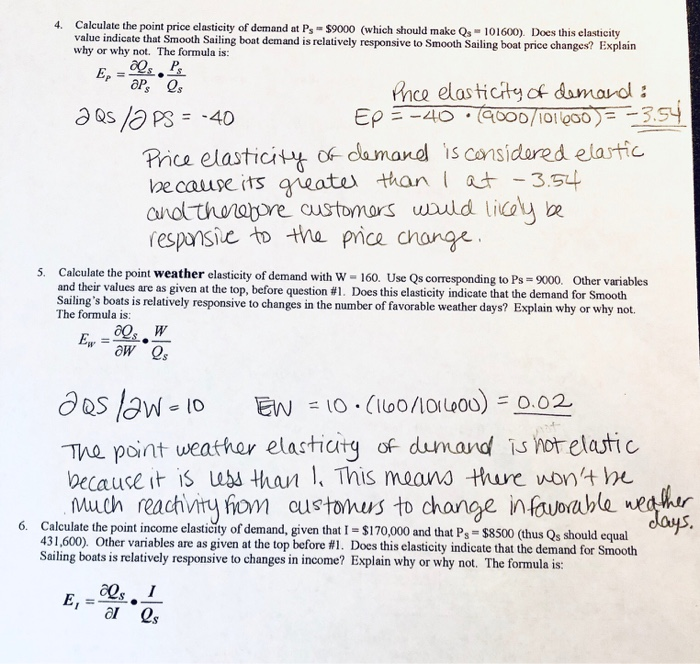 Solved All Questions Utilize The Multivariate Demand Func