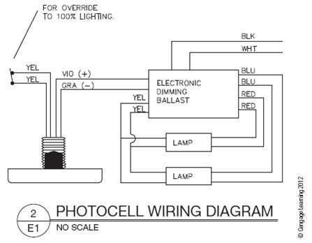 photocell wiring diagram  chegg