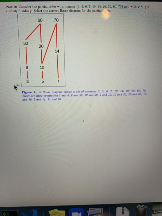 Solved Problem 2 This Question Has 2 Parts Part 1 The D Chegg Com