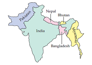 Solved: Map Coloring The following map shows six countries ...