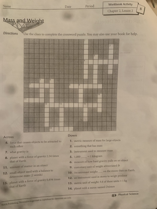 Solved Workbook Activity Name Date Period Chapter 2 Less Chegg Com