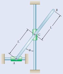 Rotational motion - Angular acceleration of a rod