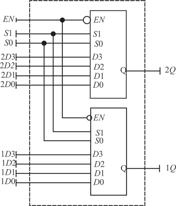 Solved  Draw The Block Diagram Of A Dual 4