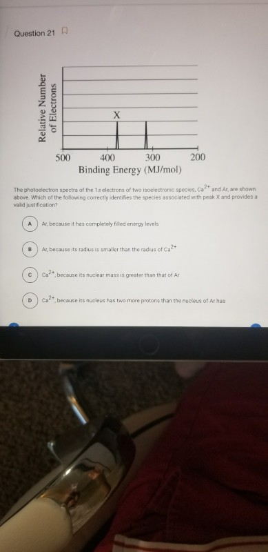 Solved: 1)C 2)B 3)C 4)A 5)B 6) A)1s2 2s2 2p6 3s2 3p6 4s2 B... | Chegg.com