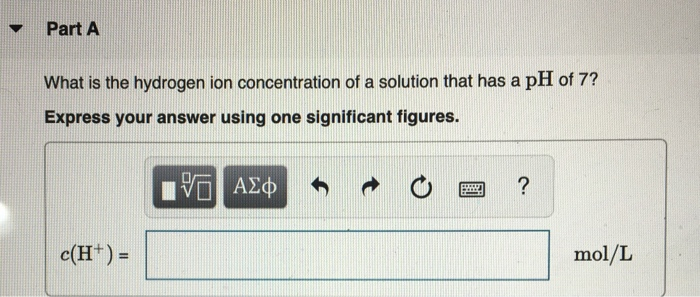 Solved: What Is The PH Of An Aqueous Solution With [H3O