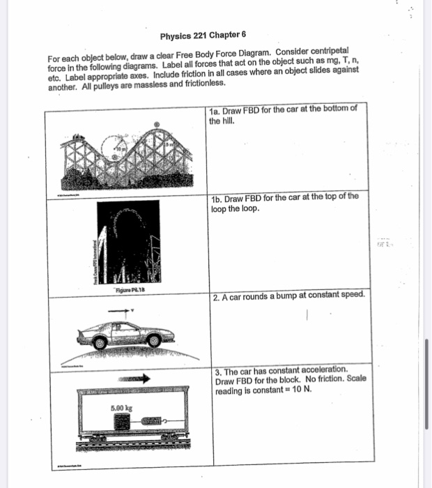 Solved: For Each Object Below, Draw A Free Diagram. L ... on car diagram without labels, car diagram with titles, car drawing with labels, car parts with labels, car model with labels, motor car with labels, car diagram with parts labeled,