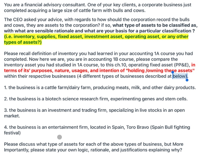 3 classifications of investment accounting training jkyf investment banks