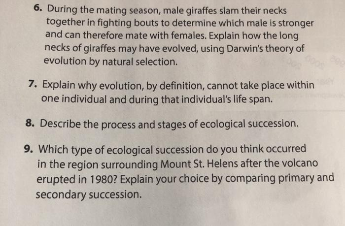 6. During the mating season, male giraffes slam their necks together in fighting bouts to determine which male is stronger an