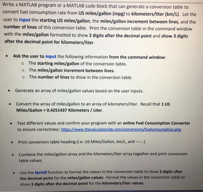 Solved: Write A MATLAB Program Or A MATLAB Code Block That... | Chegg.com