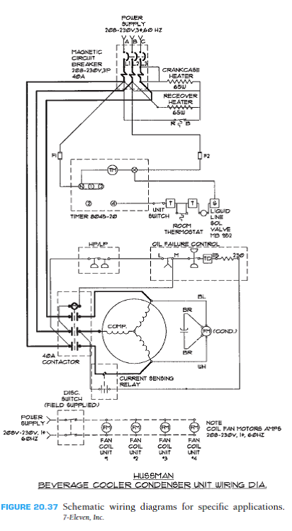 commercial schematic wiring diagram given the engineer... | chegg.com  chegg