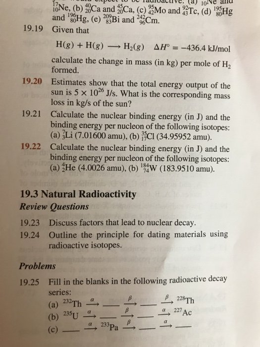 Outline the principle for dating materials using radioactive isotopes