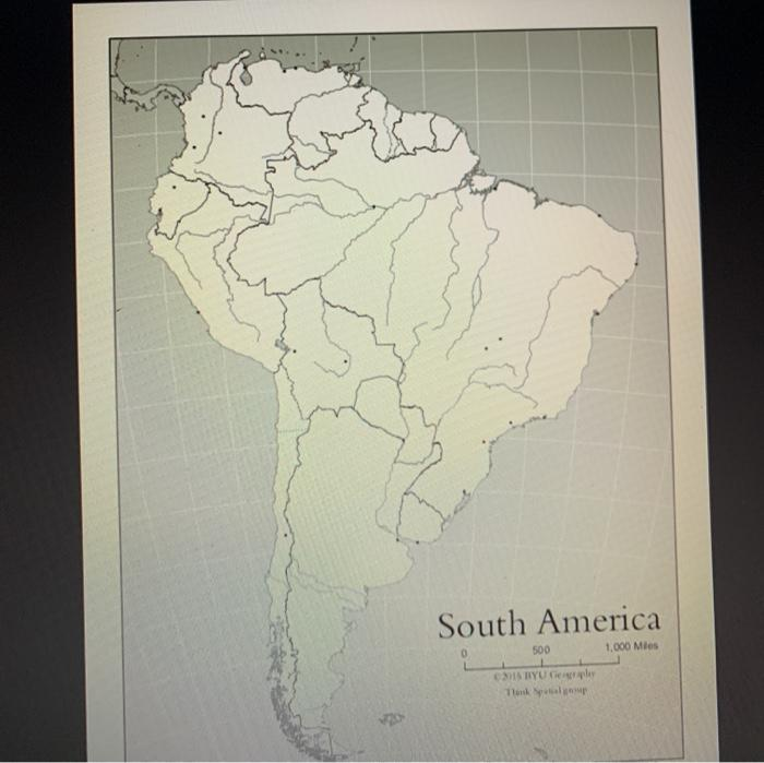 South America 500 1.000 Mies MISTY pler Tuky
