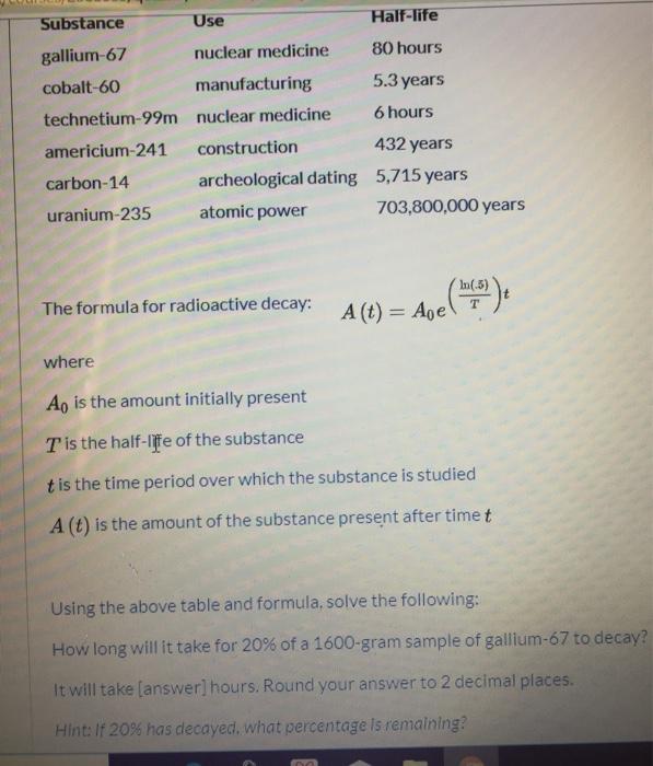 Uranium 235 dating Calculator