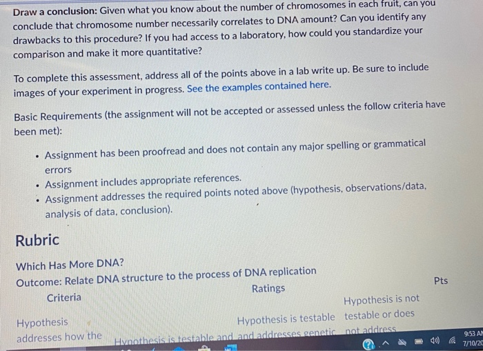 Solved Assignment Which Has More Dna B Assignment Due J Chegg Com