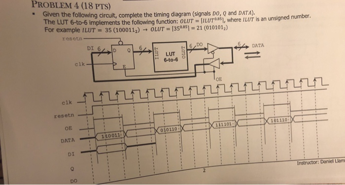 350 clk electrical wiring diagram solved problem 4  18 pts  given the following circuit  co  pts  given the following circuit