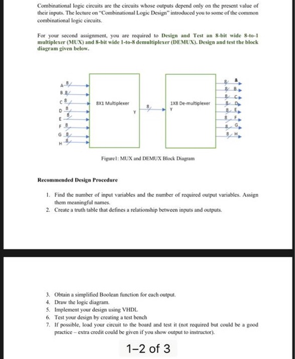 Solved Combinational Logic Eircuits Are The Circuits Whos Chegg Com