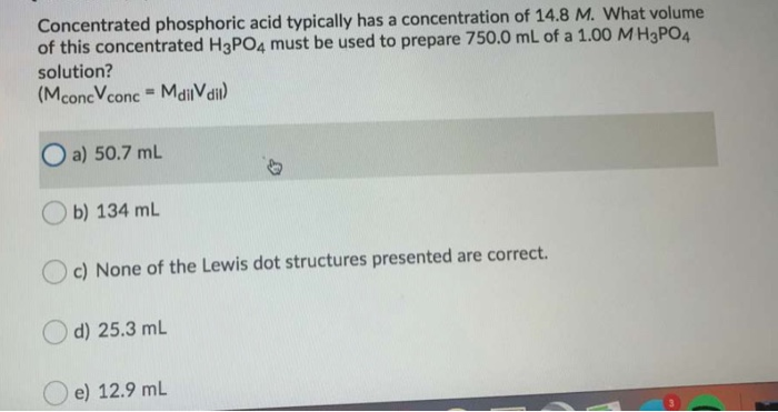 H3po4 Lewis Dot Structure