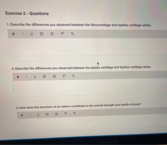 Solved Exercise 2 Questions 1 Describe The Differences