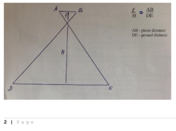 B AB DE H AB - photo distance DE - grund distance H D 21 Page