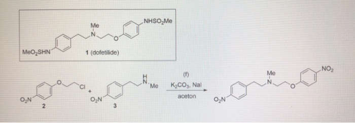 Solved: In The Total Synthesis Of Dofetilid Step (f) Was S... | Chegg.com