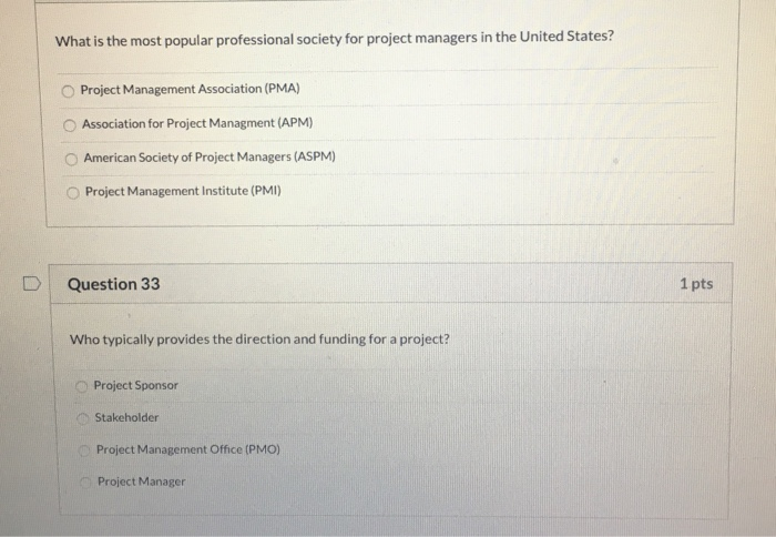 Solved What Is The Most Popular Professional Society For
