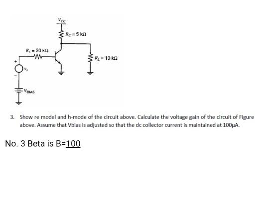 Solved: Re=5 Kn Rs - 20 Kn R = 10 Kg Ves 3. Show Re Model ...   Chegg.com
