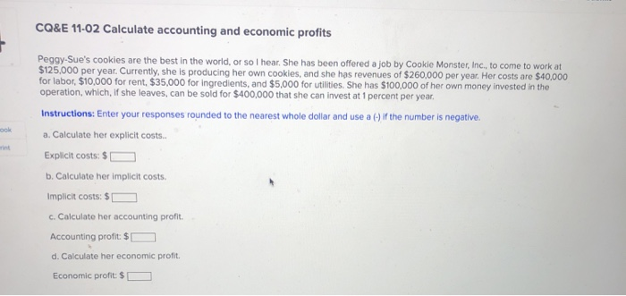 calculate accounting profit