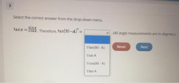 Solved 3 Select The Correct Answer From The Drop Down Men Chegg Com