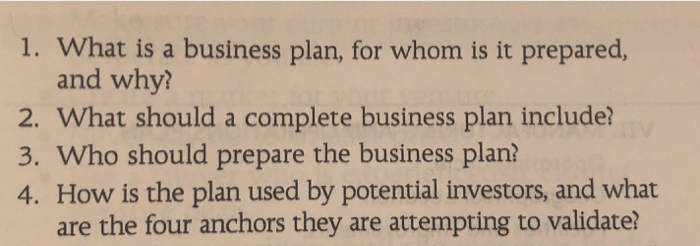 When should a business plan be prepared quality essays in all formats